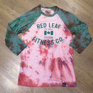 Outdoor Apparel Tie Dye Baseball T-shirt